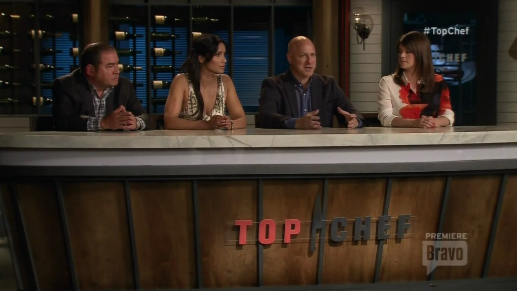 Top Chef table