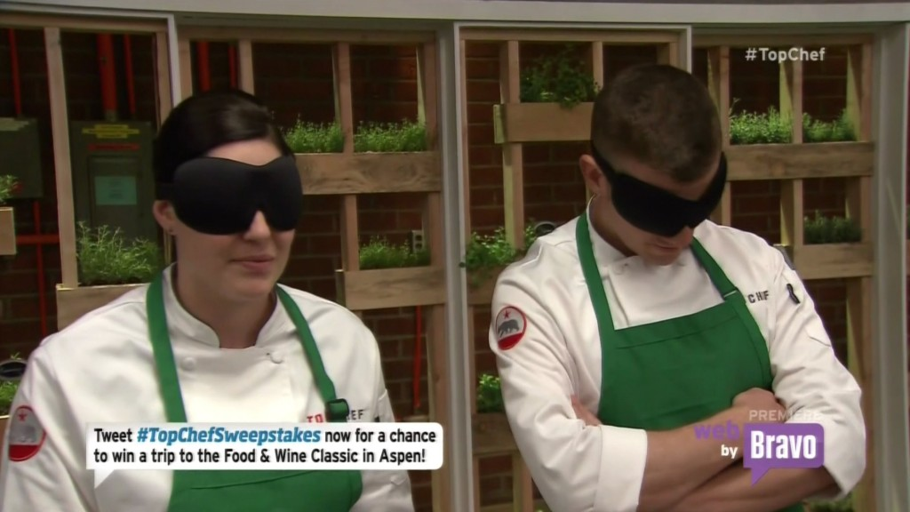 Top Chef Blindfold