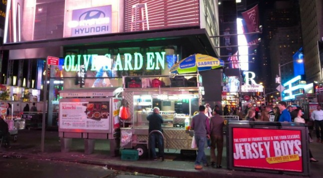 Times Square Olive Garden Charging 400 Per Head On New