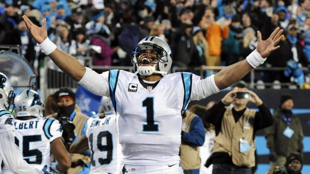 The panthers cruise into their second super bowl