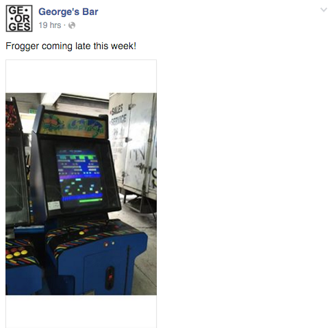 George's Bar Frogger