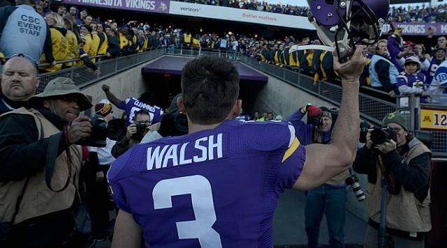 nfl YOUTH Minnesota Vikings Blair Walsh Jerseys