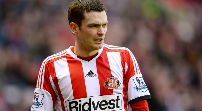 SUNDERLAND, ENGLAND - JANUARY 05:  Adam Johnson of Sunderland looks on during the Budweiser FA Cup third round match between Sunderland and Carlisle United at the Stadium of Light on January 5, 2014 in Sunderland, England.  (Photo by Mark Runnacles/Getty Images)