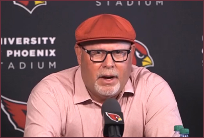 Bruce Arians hat fashion
