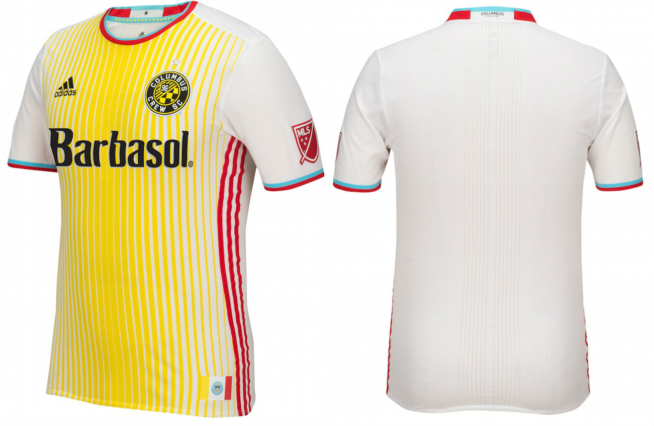 Columbus Crew NEW Secondary