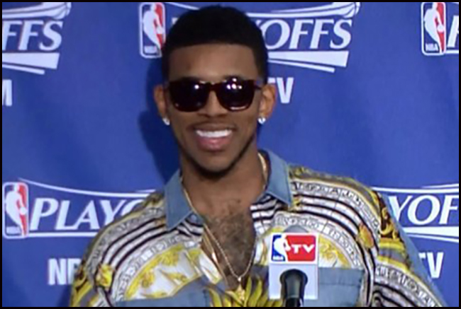 Nick Young hairy chest hair pride