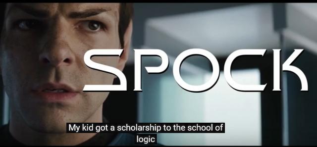 Spock video
