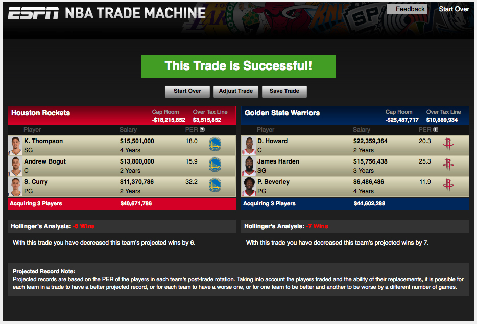 Nba Trade Machine