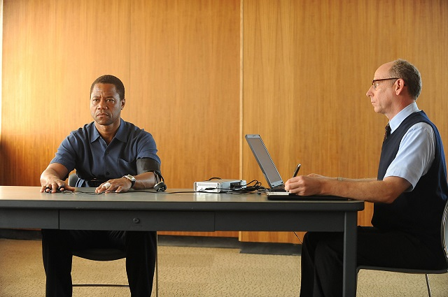Cuba Gooding Jr. as O.J. Simpson in FX's 'The People v. O.J. Simpson.' (Ray Mickshaw/FX)
