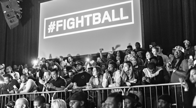 Fightball Finals on March 10, 2016. CREDIT: Dorothy Hong Photography