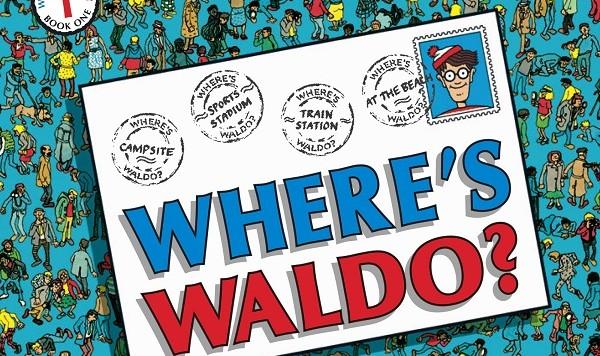Where's Waldo cover