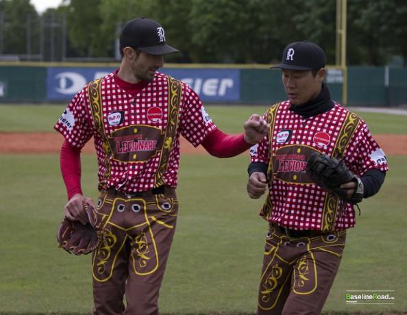 Germanys buchbinder legionaere regensburg has some of the oddest germanys buchbinder legionaere regensburg has some of the oddest baseball uniforms yet sciox Images