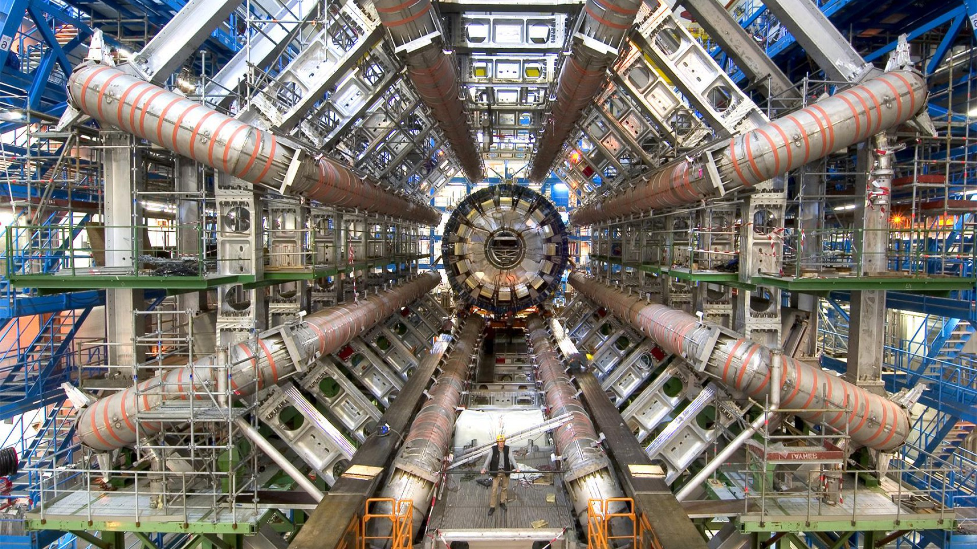 Weasel temporarily shuts down the Large Hadron Collider