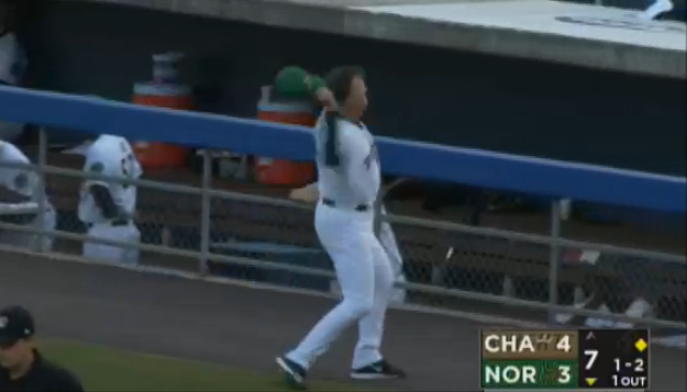 Minor League manager hilariously fires hat into crowd ...
