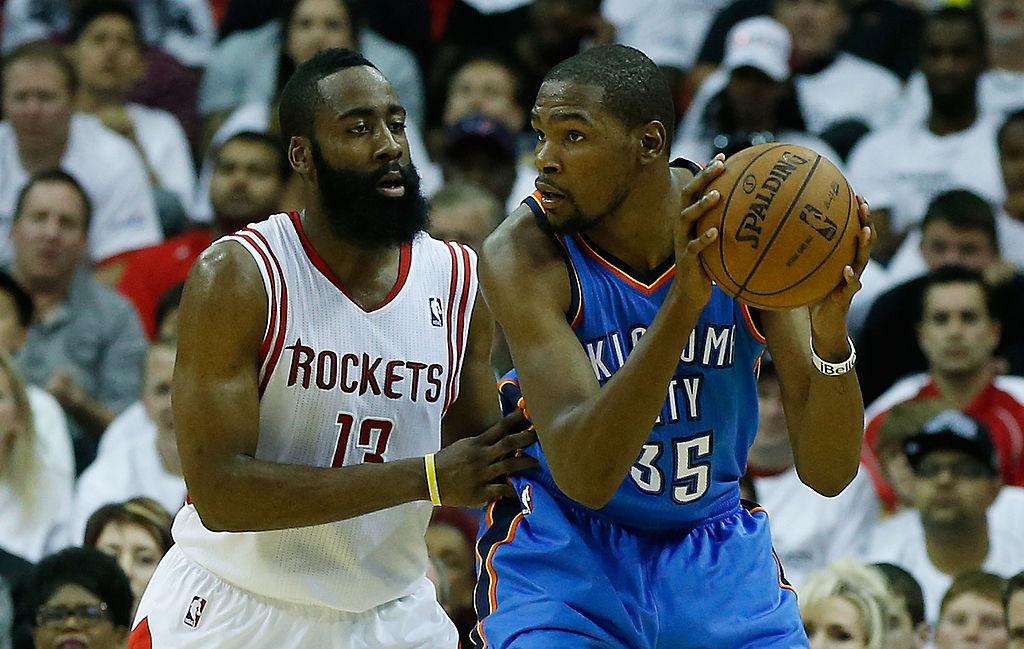 942e9b2c0a35 Oklahoma City Thunder v Houston Rockets - Game Three