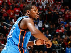 Kevin Durant, not signing with the Hawks