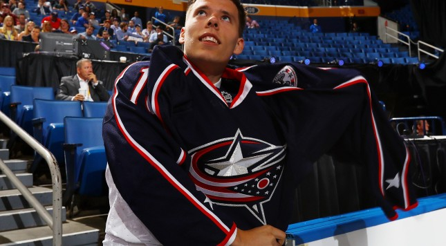Blue Jackets draft pick survived meteor strike as a kid, prompted ...