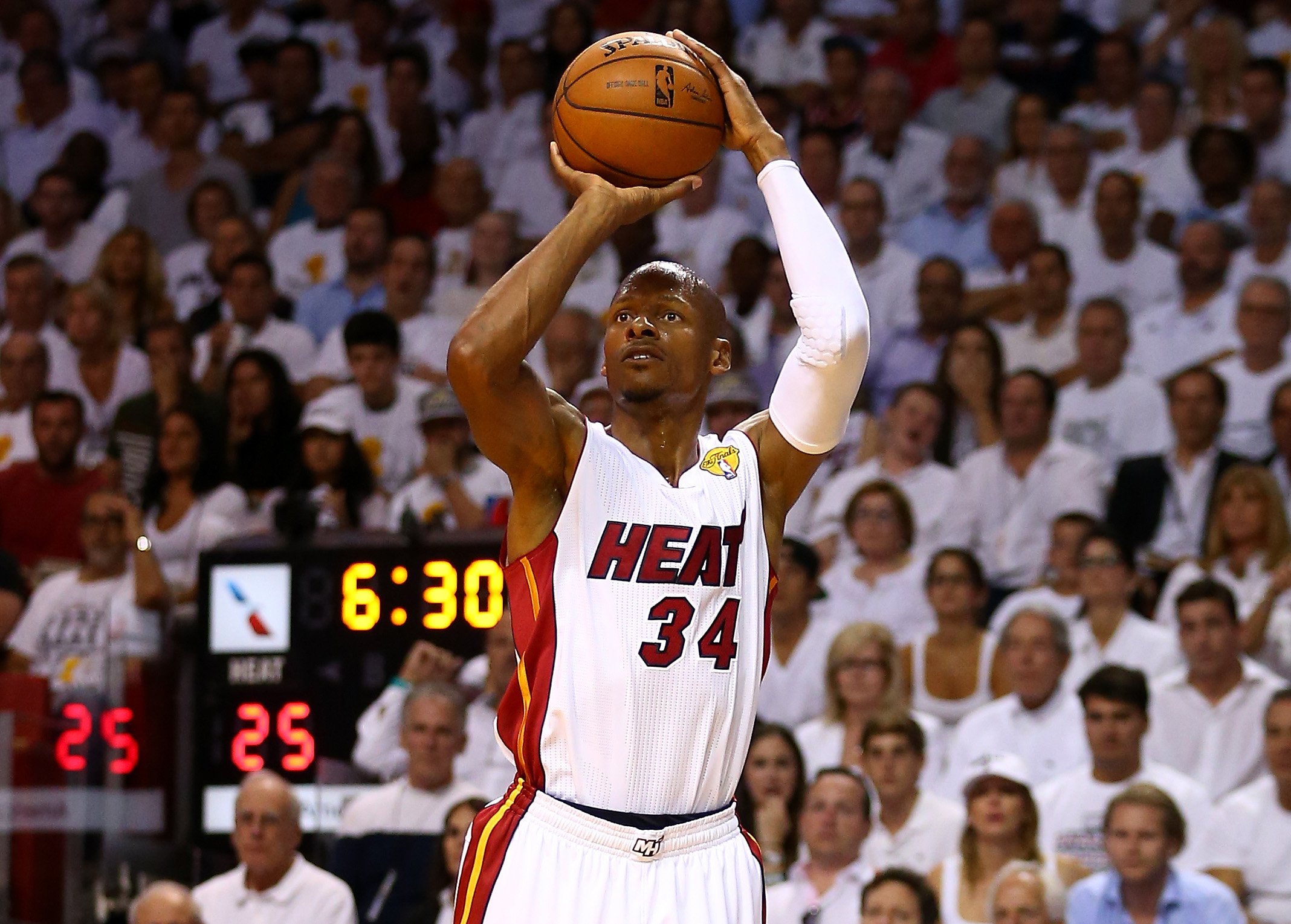 Ray Allen is thinking about a comeback