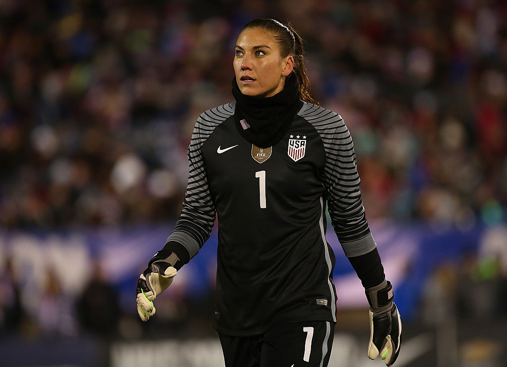 Solo announces she's running for president of US Soccer