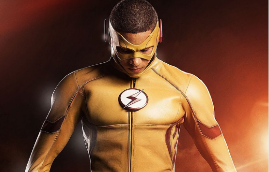 The Flash Reveals First Look at Kid Flash!