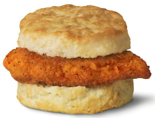 ... longer selling the Spicy Chicken Biscuit, America is losing its mind