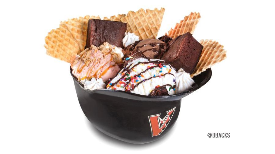 Diamondbacks sundae