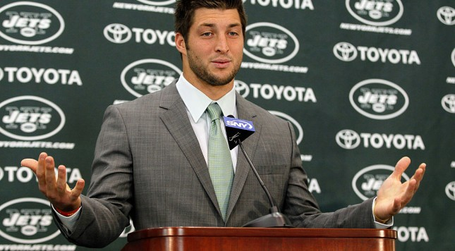 Boomers ready to move ahead with Tebow - if Tebow is interested