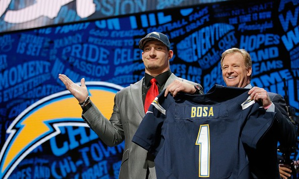 Joey Bosa's mom wishes they 'pulled an Eli Manning on draft day'