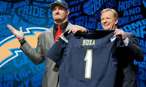 Chargers announce they've signed Joey Bosa days after public spat