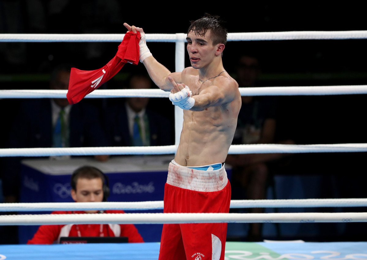 Irish boxer Mick Conlan