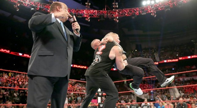Wwe Raw Reaction August 1 Brock Lesnar Returns And Is
