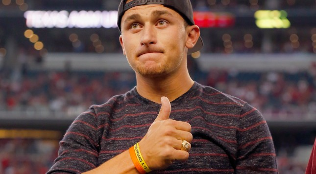 Johnny Manziel re-enrolls at Texas A&M