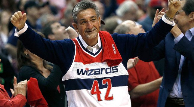 Wizards owner Ted Leonsis