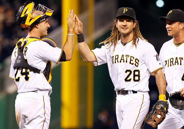 WATCH: John Jaso & his dreadlocks hit for the first cycle in PNC Park history