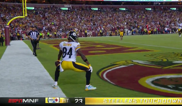 Antonio Brown abused Bashaud Breeland all night, Jay Gruden defends decision
