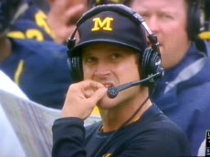 Jim Harbaugh booger