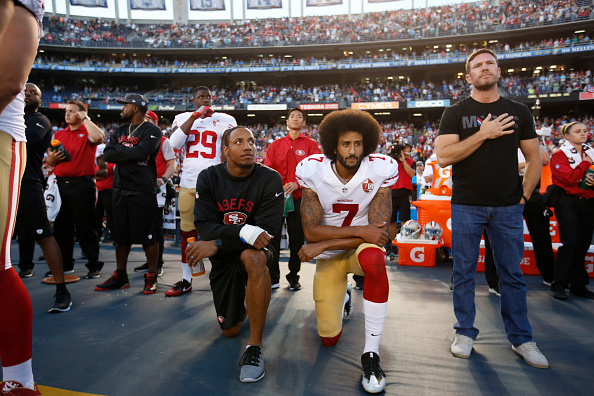 Colin Kaepernick's former teammate: 'You can't get over a protest?'