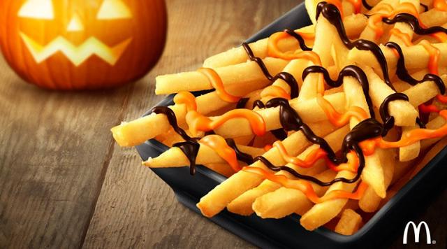 McDonald's selling pumpkin fries in Japan