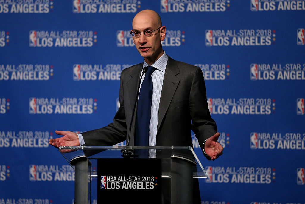 Adam Silver wants draft lottery reform.
