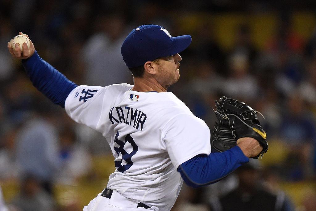 Scott Kazmir of the Dodgers