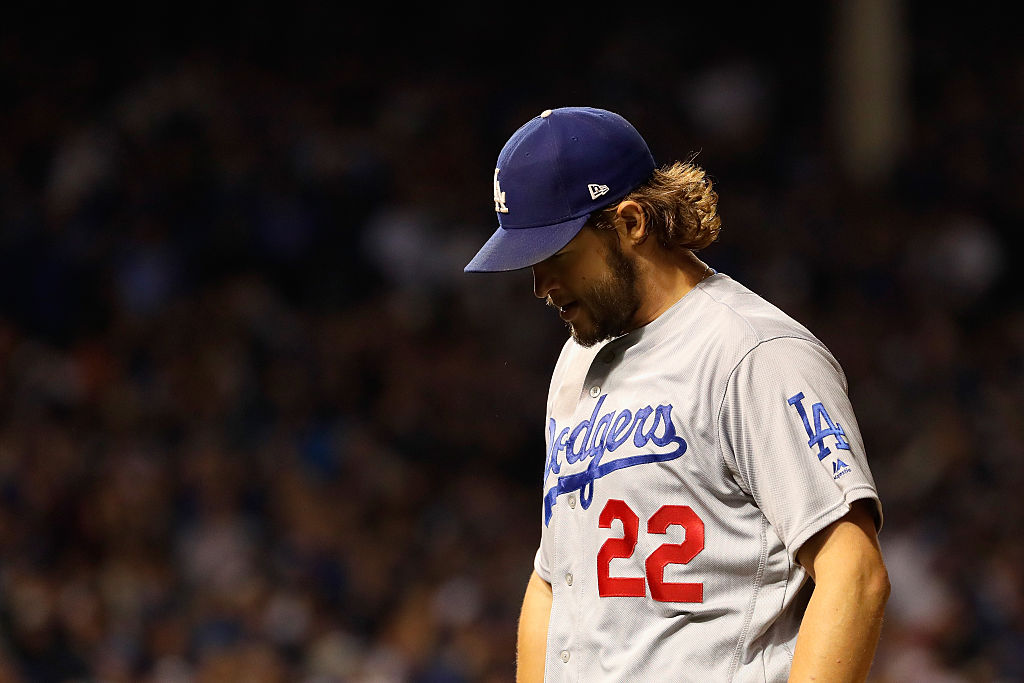 Clayton Kershaw of the Dodgers