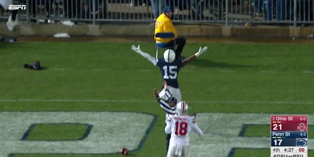 UPSET: Penn State topples No