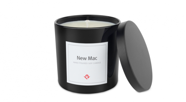 This New Mac scent candle makes your house smell like an unboxing