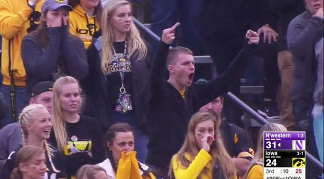 Iowa's disappointing season continues with home loss to Northwestern