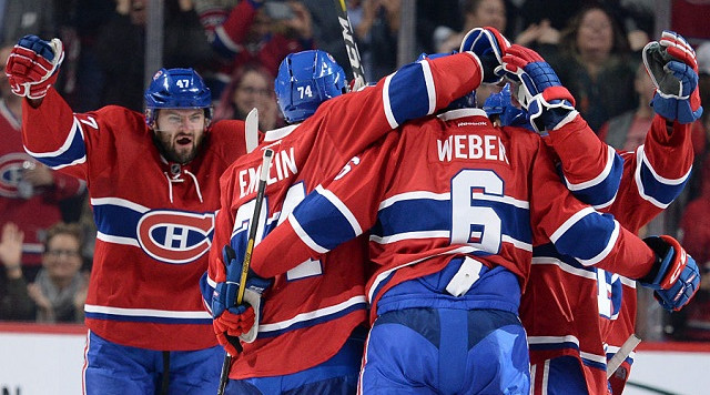 Weber goal lifts Canadiens over Leafs 2-1