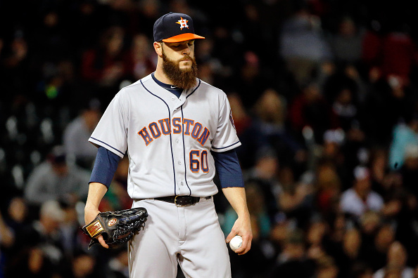 Dallas Keuchel unhappy with Astros' quiet trade deadline