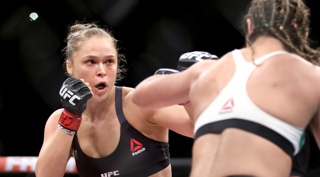 Ronda Rousey Allegedly Needed To Be Consoled After Face-Off With Amanda Nunes