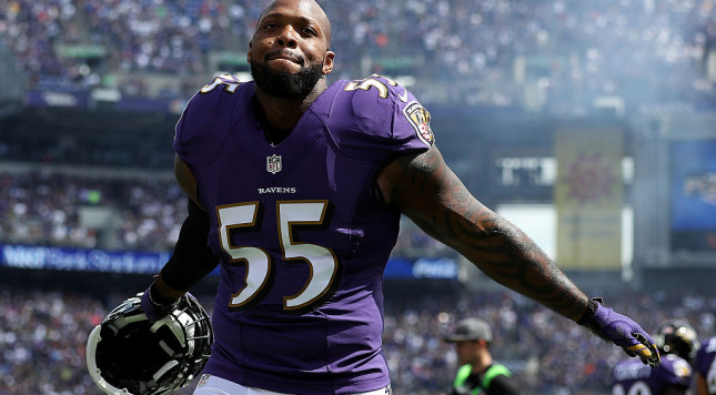 Watch Ravens LB Terrell Suggs hijack Cowboys rookie Dak Prescott's interview