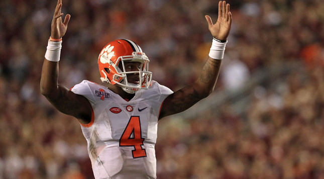 Swinney: Clemson offensive stars leaving after this year