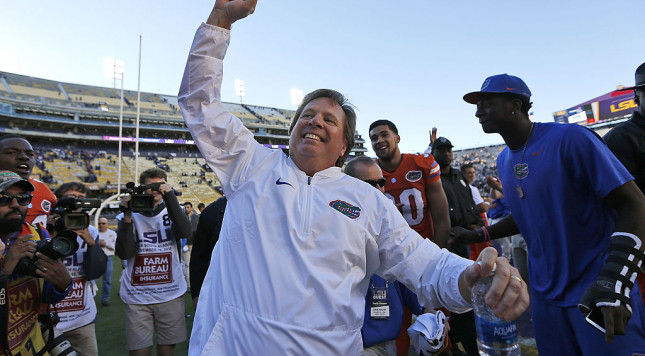 No. 15 Florida will be without DE Sherit for SEC title game